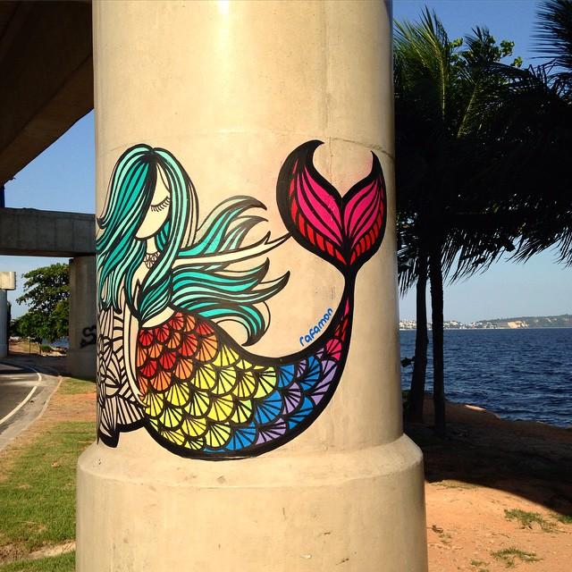 #graffiti #grafite #urbanart #arteurbana #riodejaneiro #brasil #rafamon #tonoadorofarm #tinta #arte #art #graffitirio #MuralsAndGirls
