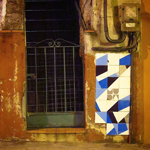 #streetart #streetartrio #urbanart #urban #riodejaneiro #azulejo #carreau #azul #bleu #blue