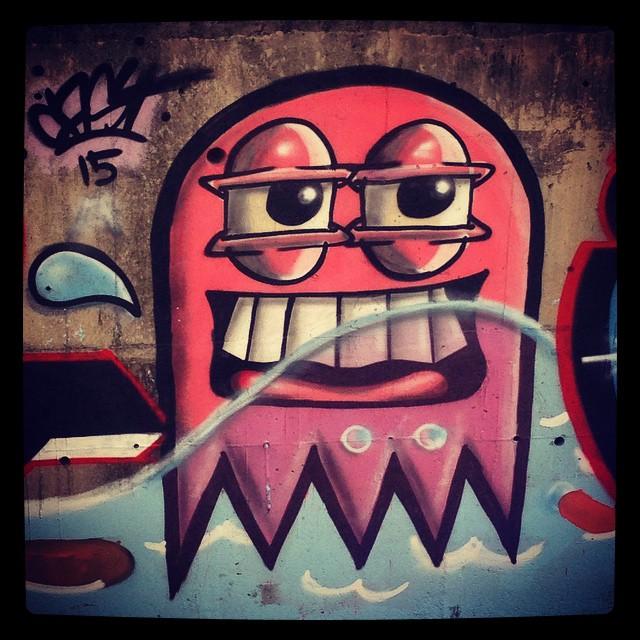#streetartrio #trapacrew #instagraffiti
