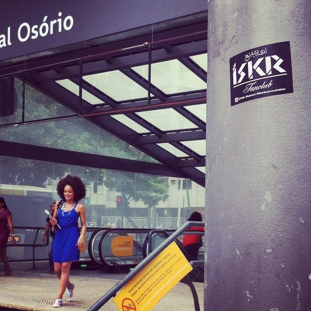 #iskrart #iskrpropaganda #streetart #streetartrio #rio #brasil #stickers #slaps #design #vandals