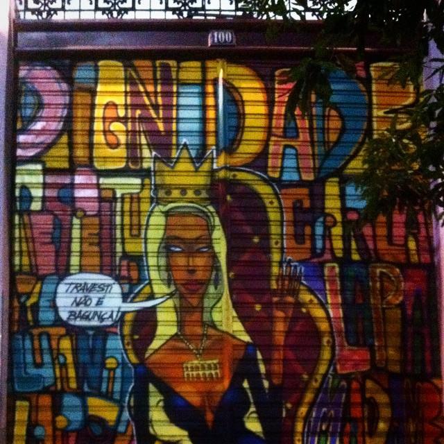 #travestinãoébagunça #marceloment #streetart #streetartrio #urbanart #marceloeco ️