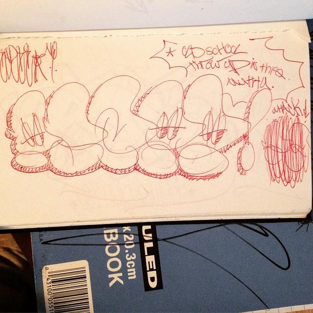 Early SZ. Late mid 90's UD bookwork... @bnmprez @lzyprson @badandres @chrisidis #streetartrio #urbanart #letters #streetart #colorginarturbana #wildstyle #streetartglobe #culturap #streetartfiles #segov #meetingofstyles #macae #letras #throwup #throwie #graffporn #art #oneliner #graff #mural #belton #tag #graffiti #vandal #montana #handstyle #piece #blackbookart #dub #burner