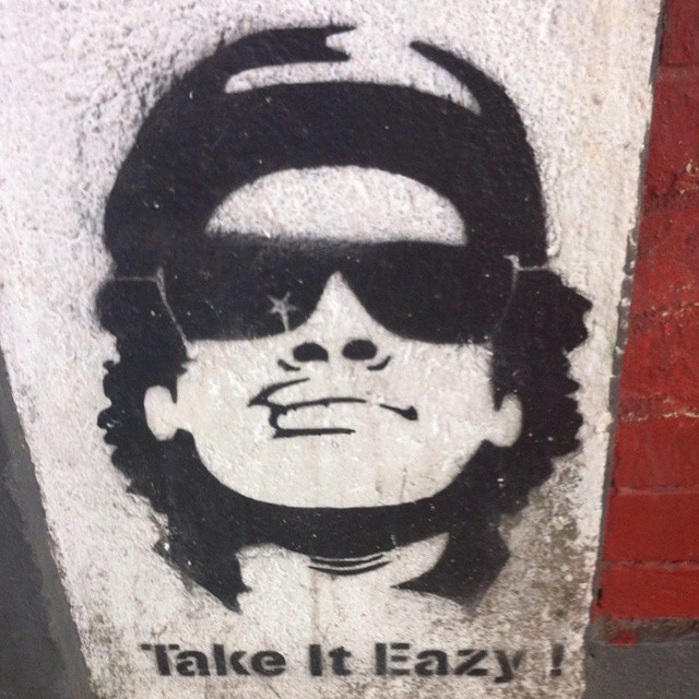 Easy Sunday #EasyE #NWA #streetart #rio #streetartrio #streetartparis #gfunk