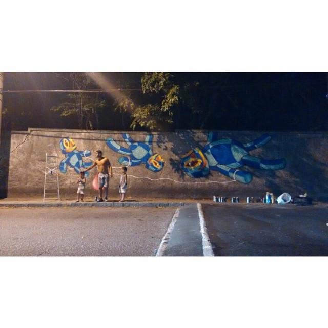 Em andamento... #Kaduori #streetartrio #graffiti