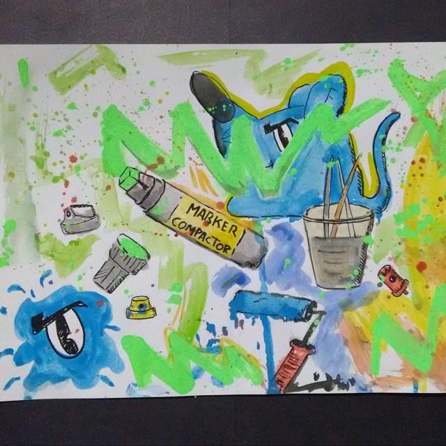 Essa é minha vida esse é meu mundo ! #artgraffiti #ratimblu #artederuario #streetartrio #artlife #lovegraffiti #arte #nierói #niteroirj #galeriaurbana #grafiteart #galeriadearte #niteroiarte #artprotest #aquerela #acuarela #aquarell #aquerelle #watercolor #acquerello