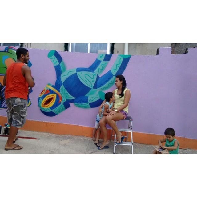 #Kaduori #morrodosprazeres #caminhodograffite #streetart #streetartrio #instagrafite #arteurbana #personagens
