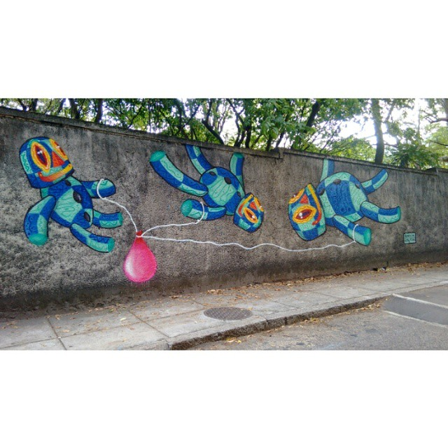 #Kaduori #streetartrio #instagrafite #streetart