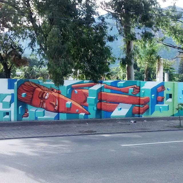 Marcelo Eco #streetart #arteurbana #StreetArtRio #grafite #RiodeJaneiro