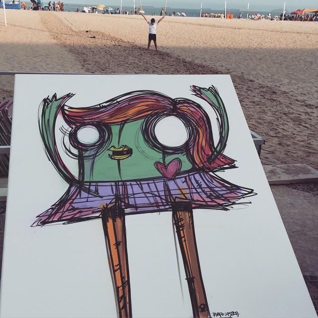 #Streetartrio #mulheresrodadas #somostodosrodadas #diainternacionaldaminisaia