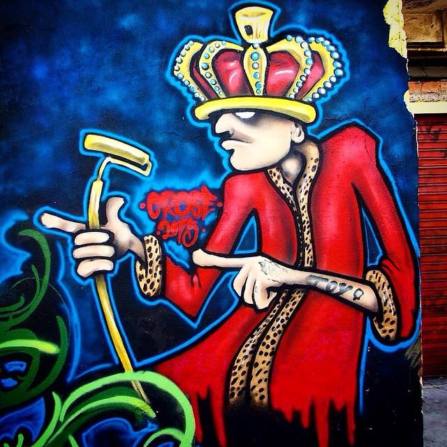 The King Toy #instacrose #graffiti #toy #streetart #streetartrio #allcity #paint #cor #graffiticharacters #riodejaneiro #graffitibrasil