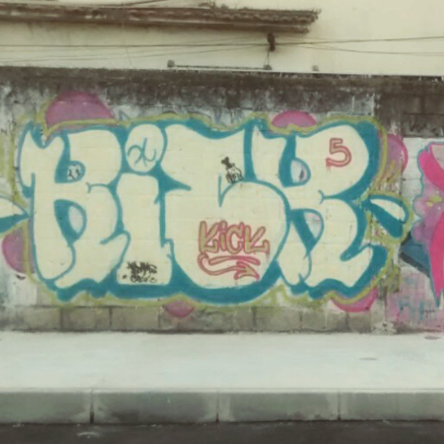 #kick5 #bomb #StreetArtRio #artederua #rjvandal #rio450anos #94 #flame #domingao.