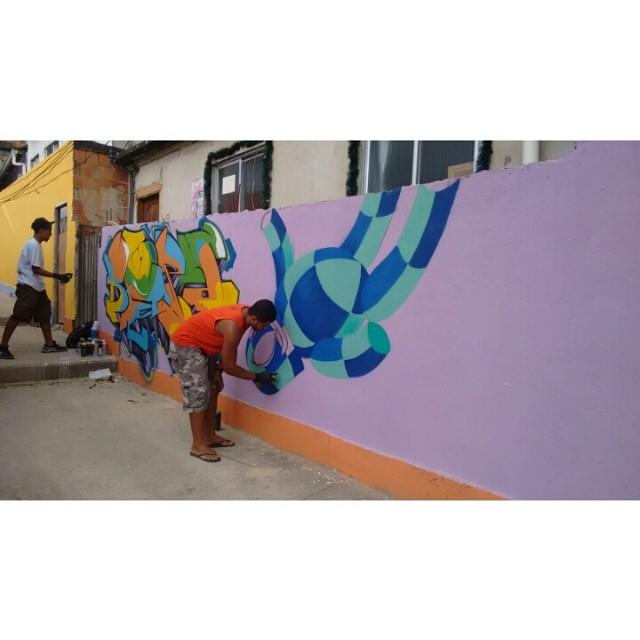 #morrodosprazeres #Kaduori #graffiti #streetartrio #streetart