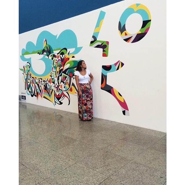 #rio450anos #TudoDeCorParaVoce #oRioComeçaAqui #streetartrio #instagrafite