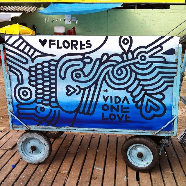 #vidaonelove #semcarros #ilhagrande #arteurbana #streetartrio #graffiti #art #vidaemferias