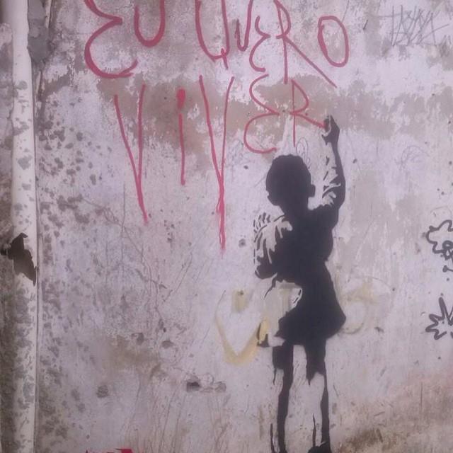 @daviamen preciso com arte e amor #streetartrio #grafite #SOSCPX #PaznoAlemão