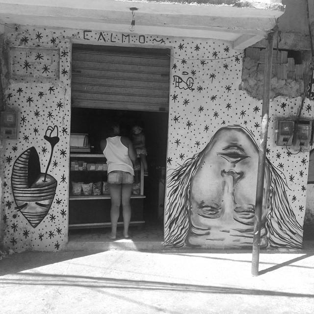 @umaflora @pedrongomes • Comunidade dos Giararapes - RJ • #coletivocalmo