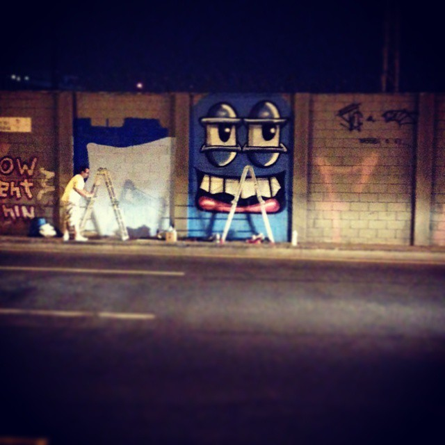 A dupla do barulho! #streetart #streetartrio #trapacrew