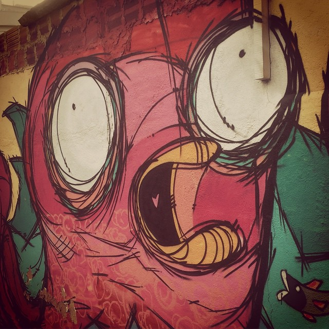 Ahhhhhh!!! #Streetartrio