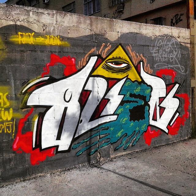 Alien!!! #antalmascrew #rjvandal #vazlobo #zn #streetartrio #montana94 #arrejota #pedrada #nosapatinho