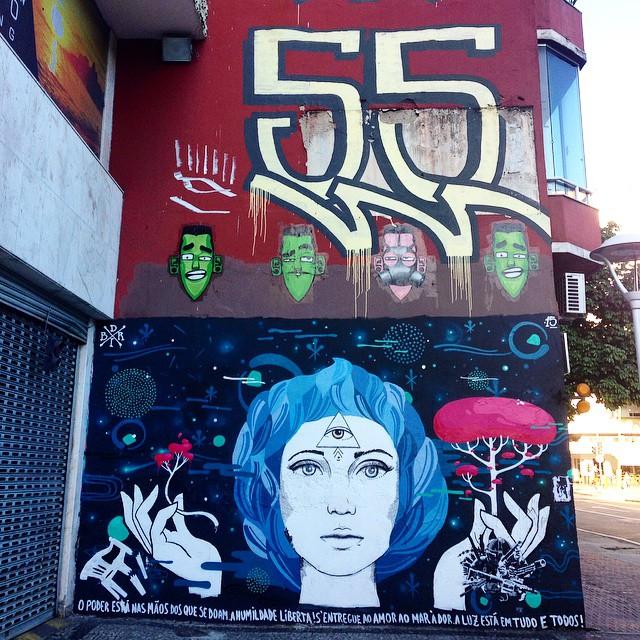 Art done by @marceloeco #bird #cinc #graffiti #marceloeco #streetart #streetartrio #urbanart #MuralsDaily #nofilter #ipanema #riodejaneiro #brazil