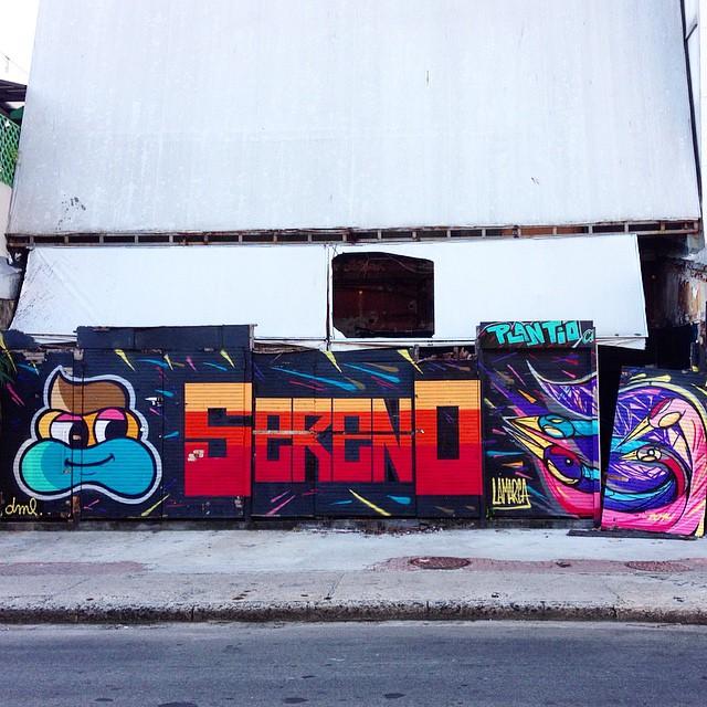 Art done by @marcelolamarca @diogolamarca @mig_sereno #graffiti #streetart #streetartrio #urbanart #nofilter #MuralsDaily #ipanema #riodejaneiro #brazil