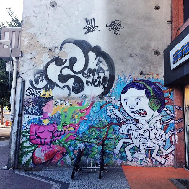 Art done by @marciopxe #ottis #graffiti #streetart #streetartrio #urbanart #MuralsDaily #nofilter #ipanema #riodejaneiro #brazil