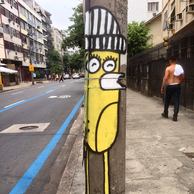 Art done by @searc_src #graffiti #streetart #streetartrio #urbanart #nofilter #tijuca #riodejaneiro #brazil