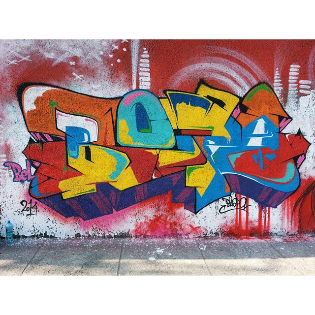 #BLOPA  #graffiti #graffitiart #graffitiartist #streetart #art #graffitikings #letters #weloveletters #galeriaceuaberto #olheosmuros #graffitiwriter #vscocam #print #wildstyle #wildstylegraffiti #streetartrio