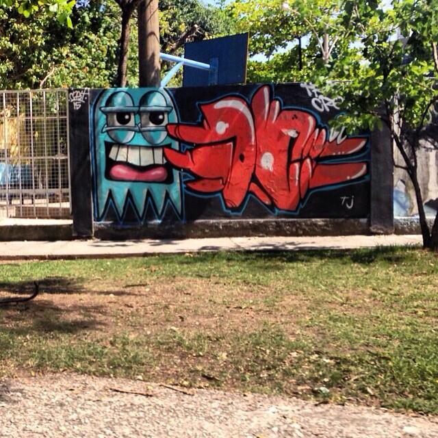 CAST JC 2015 !! Zona sul!  #instaart #spray #riodejaneiro #rj #instagraffiti #graffiti #graffite #artederua #art #artist #urbanart #graffitibrazil #graffitebrazil #loveart #spraypaint #streetart #freestyle #graffitirj #graffrio #rua #mtn #hiphop #streetartrio #ruasdazn #trapacrew #tafaltandomuro