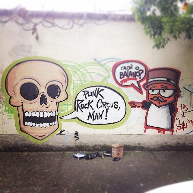 Cadê o baiano? #streetartrio @marceloeco