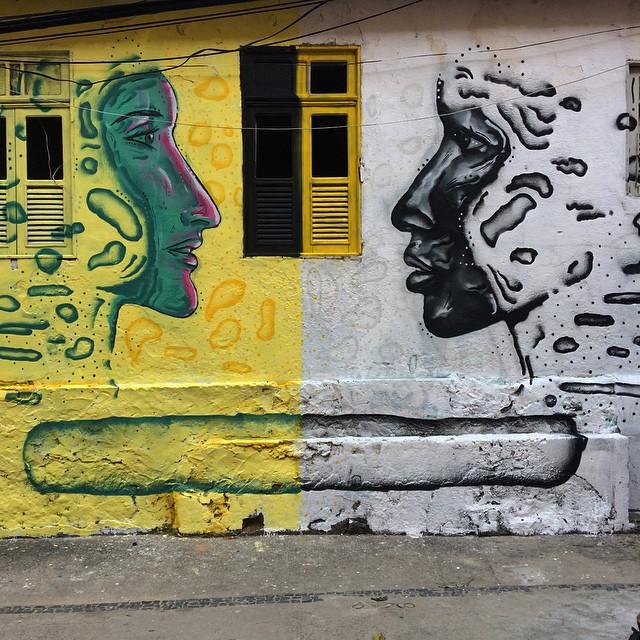 Contrastes • Comunidade dos Guararapes - RJ • #streetartrio #pngone #coletivocalmo #rjvandal