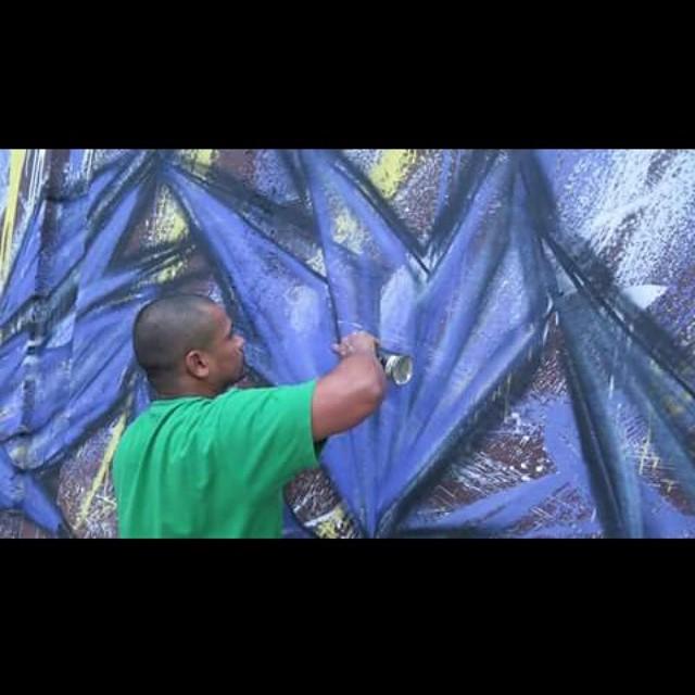 Detail!!!! Love graffiti #streetartrio #cidadegaleria #instagraffiti #Little #letters