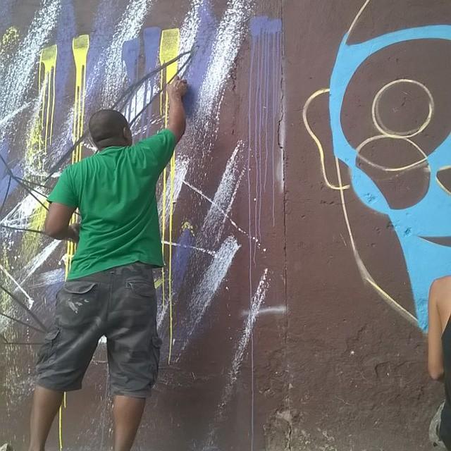 !!!! #Little #instagraffiti #streetartrio #cidadegaleria #trocen #coletivoilovemp