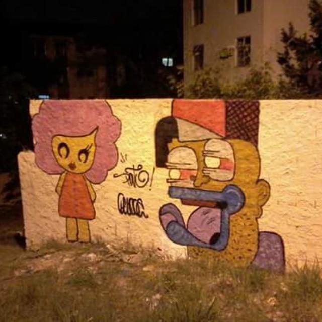 Pato x pucca! #ruasdazn #rjvandal #streetartrio #galeriaaceuaberto #sprayart #wallacepato #pato #kobra #grafite #graffitirj #graffrio #graffitilovers #grafitte #riograffiti #riodejaneiro #brooklyn #arturbana #arte #art #instagraffiti #graff #graffitiart #colorgin #zonanorterj