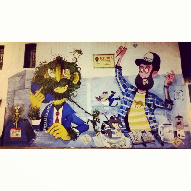 RUA CONDE DE BONFIM COM AV.GABRIELA PRADO MAIA - TIJUCA -BRASIL ARTISTAS: Naobi ?, Caze ?, Alcazota ? Desculpem, nao deu p entender os nomes. #graffiti #graffitiart #graffitiwall #streetculture #streetphotography #streetstyle #urbanart #spraypaint #graffitirio #StreetArtRio #muros #artederua #streetart #arteurbana #welovestreetart #mural #streetartfiles #graffart #graffittigers #spraypaint #graff #wallart #olheosmuros #loves_street_art #graffitilegends #streetartofficial #streetarteverywhere