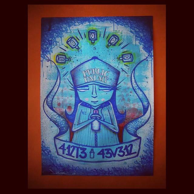 SCRAU Arte feita pro responsa @pakato44 #artforever #art #scrau #scrawl #rua #streetartrio #artemista