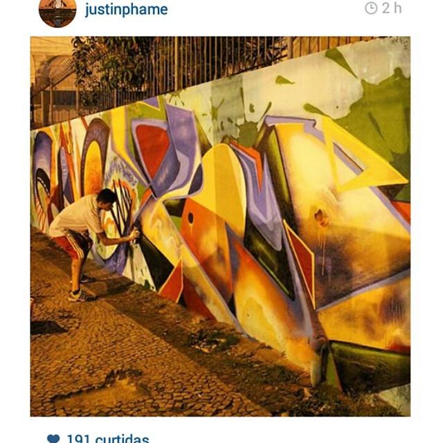 Satisffa @justinphame  #graffiti #graffitibrasil #brooklyn #riodejaneiro #letters #tags #throwups #longlife #streetart #streetartrio #fatcap #bombing #urbanart #phame #2dx