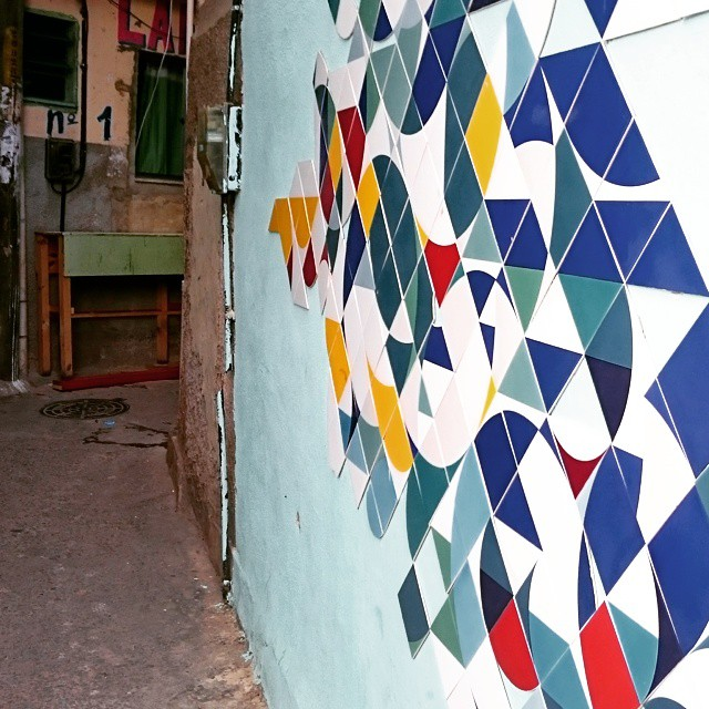 Serra coral #confere #MUDA #azulejo #tile #streetart #streetartrio #ColetivoMUDA