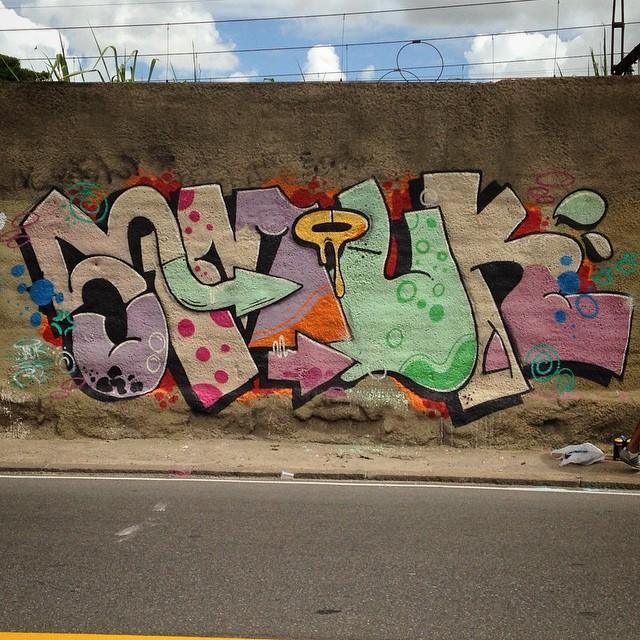 Smuk #StreetArtRio #smuk #rc #colors #graffitirj #graffiti #rjvandal #writer #rj