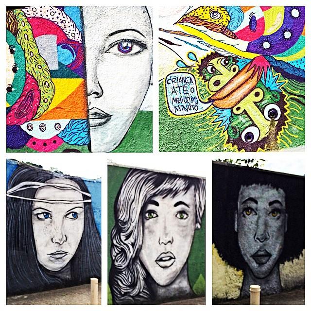 The walls are watching - A few #grafitti faces I saw while out and about in Rio yesterday. #streetart #streetartrio #artederua #grafite #murals #riodejaneiro #brasil #brazil #southamerica #colorful #wanderlusting #wanderlusting4lifebrazil #whilelivinginbrazil #goexplore #artisallaround #worksofart #travelgram