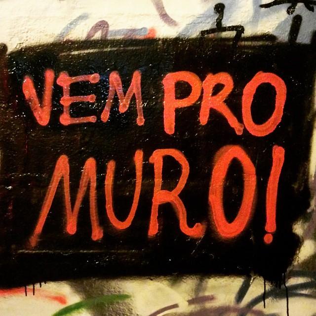 Vem mesmo, rapeize! #StreetArtRio