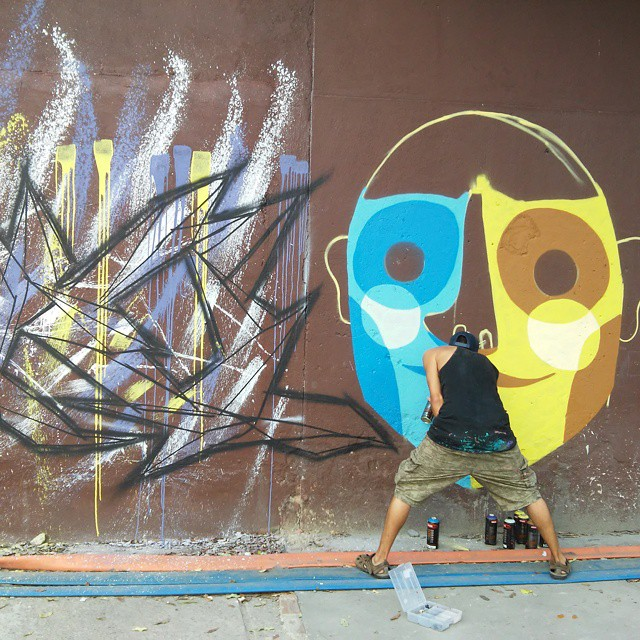 conexão #conexãouruguaixbrasil #streetartrio #cidadegaleria #instagraffiti #coletivoilovemp #trocen #Riodejaneiro #Brasil