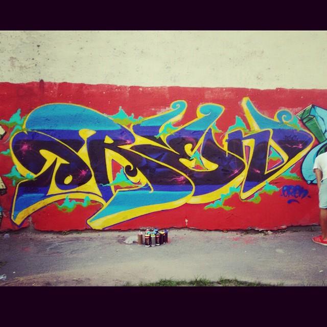 #graff #graffiti #graffitirj #spraypaint #spray #graffrio #rj #oren #streetartrio #streetar #mof #sqn