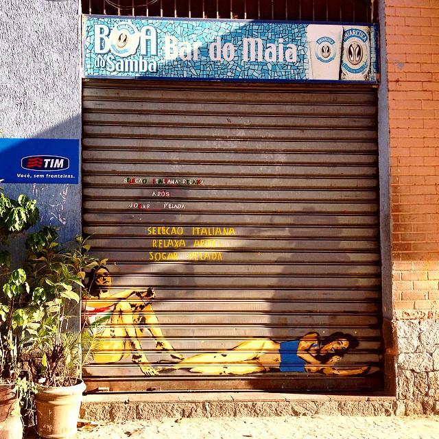 #graffiti #streetart #streetartrio #urbanart #nofilter #ipanema #riodejaneiro #brazil