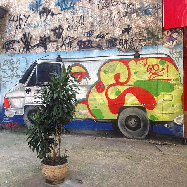 #grafite #graffiti #graffitigram #grafiterio #streetartrio #streetart #van #graff #instagraffiti #urbanart #artederua #arteurbana #intervencaourbana