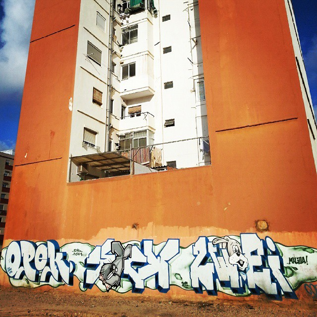 #instagraffiti #streetart #streetgraff #streetwriters #streetartrio #streetartist #streetarteverywhere #hierendaar #fromthestreets #publicart #urbanart #urbangraff #urbanwalls #thisisstreetart #globalstreetart #klotter #ilovegraffiti #wallart #wallpainting #wallcolours #muralsonthewall #notjustwalls #valencia