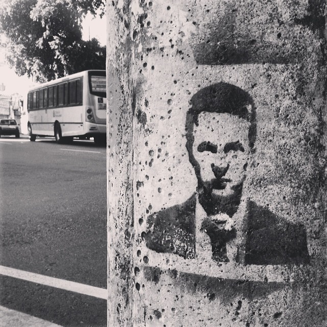 #stencil #fightclub #edwardnorton #tylerdurden #streetart #streetartrio #igersbrasil #igersrio #riodejaneiro #tijuca