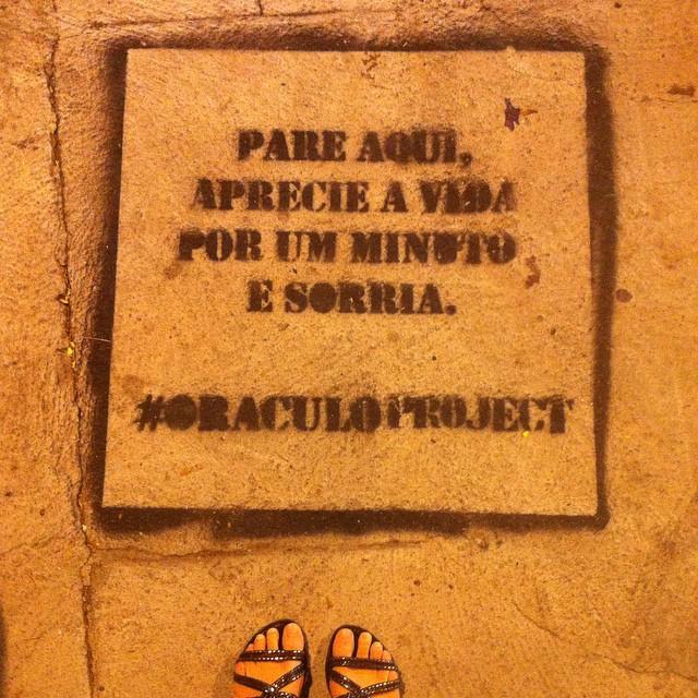 #streetartrio #rioetc #oraculoproject #sorria