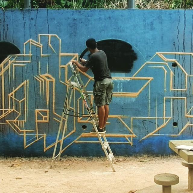 #tick #streetartrio #spray #spraycan #graffiti #graffitiart #muralart #graffitimural #braziliamgraffiti