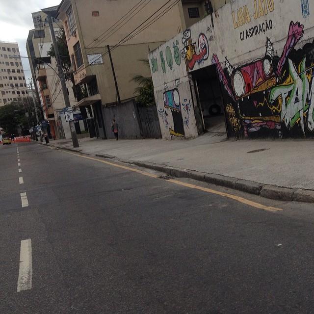 #vanishingpoint #radialoeste #riodejaneiro #streetart #streetartrio #rafocastro #igersrio #igersbrasil